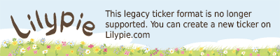 Lilypie6 - 18 Ticker